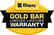 Alliance Garage Doors offers the Clopay Gold Bar Warranty.