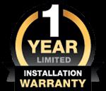 Clopay 1 Year Installation Warranty